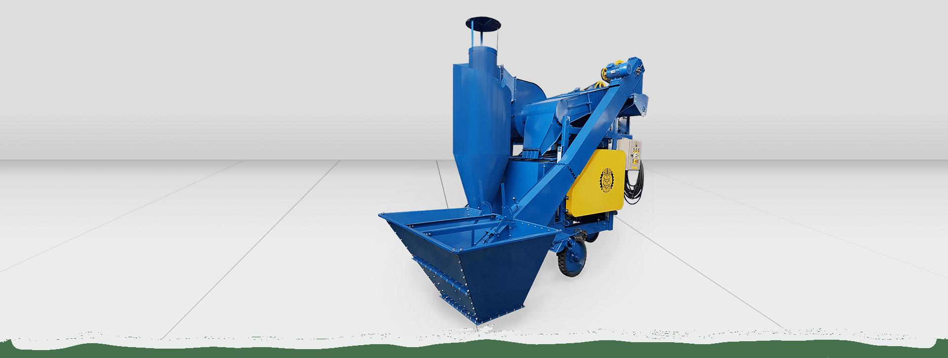Selbstfahrender Getreidereiniger OBC-25CB zur schnellen Reinigung von Getreide